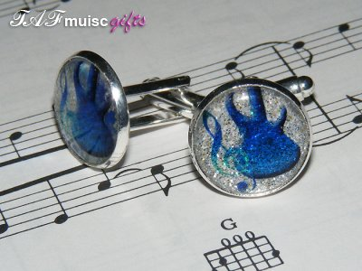 Today's featured music jewellery: Music gifts for Men